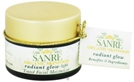 SanRe Organic Skinfood - Tinted Facial Moisturizer Radiant Glow Light - 1.1 oz. by SanRe Organic Skinfood