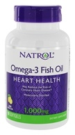 Natrol - Omega-3 Fish Oil Lemon Flavor 1000 mg. - 90 Softgels by Natrol