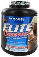 Dymatize Nutrition - Elite Gourmet Protein Whey & Casein Blend Powder Chocolate Peanut Butter - 5 lbs. - $46.08