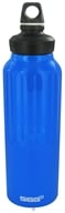 Sigg - Aluminum Water Bottle Wide Mouth Traveler Dark Blue - 1.5 Liter(s)