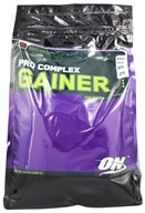 Optimum Nutrition - Pro Complex High Protein Lean Gainer Double Chocolate - 10.16 lbs., from category: Sports Nutrition
