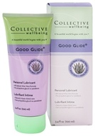 Collective Wellbeing - Good Glide Personal Lubricant with Aloe Vera Unflavored - 3.4 oz. (800704020157)