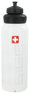 Sigg - Aluminum Water Bottle Wide Mouth SIGGNature White - 1 Liter CLEARANCE PRICED - $12.22