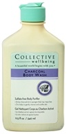 Collective Wellbeing - Charcoal Body Wash with Active Charcoal & Zinc - 11.5 oz.