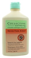 Image of Collective Wellbeing - Shampoo Never Fade Away For Color Treated Hair Marigold & Evening Primrose - 11.5 oz.