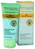 Collective Wellbeing - Day Moisturizer For Face with Titanium & Zinc Fragrance Free 15 SPF - 2 oz.