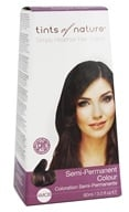 Image of Tints Of Nature - Semi-Permanent Hair Color Medium Chestnut Brown - 3 oz.