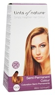 Tints Of Nature - Semi-Permanent Hair Color 7GCB Golden Copper Blonde - 3 oz.