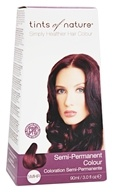 Tints Of Nature - Semi-Permanent Hair Color 5MHR Mahogany Red - 3 oz.