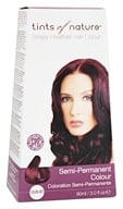 Image of Tints Of Nature - Semi-Permanent Hair Color Mahogany Red - 3 oz.