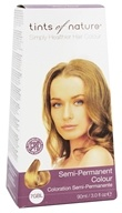 Image of Tints Of Nature - Semi-Permanent Hair Color Golden Blonde - 3 oz.
