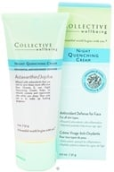 Collective Wellbeing - Night Quenching Cream For Face with Astaxanthin & Jojoba - 2 oz.