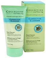 Image of Collective Wellbeing - Facial Cleanser Corrective Cleanser with Oatmeal & Raspberry - 5 oz.
