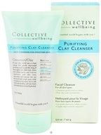 Collective Wellbeing - Facial Cleanser Purifying Clay Cleanser with Clay & Cinnamon - 5 oz.