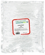 Frontier Natural Products - Bulk Lemon Ginger Tea Organic - 1 lb. - $31.83