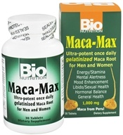 Bio Nutrition - Maca-Max 1000 mg. - 30 Tablets - $8.39