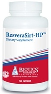 Biotics Research - ResveraSirt-HP - 120 Capsules by Biotics Research