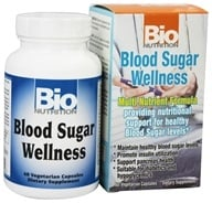 Bio Nutrition - Blood Sugar Wellness - 60 Vegetarian Capsules (854936003044)