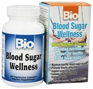Bio Nutrition - Blood Sugar Wellness - 60 Vegetarian Capsules - $13.63