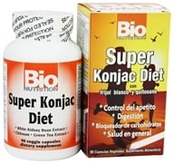 Bio Nutrition - Super Konjac Diet - 90 Vegetarian Capsules, from category: Diet & Weight Loss