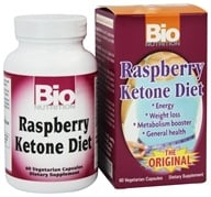 Image of Bio Nutrition - Raspberry Ketone Diet - 60 Vegetarian Capsules
