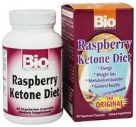 Bio Nutrition - Raspberry Ketone Diet - 60 Vegetarian Capsules, from category: Diet & Weight Loss