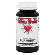 Kroeger Herbs - Herbal Combinations Turmeric 900 mg. - 100 Vegetarian Capsules