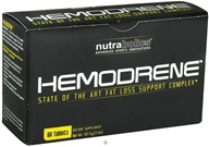 Nutrabolics - Hemodrene - 60 Tablets CLEARANCE PRICED - $24