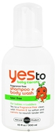 Image of Yes To - Baby Carrots Shampoo and Body Wash Fragrance Free - 10 oz.