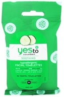 Yes To - Cucumbers Hypoallergenic Facial Towelettes - 10 Towelette(s)