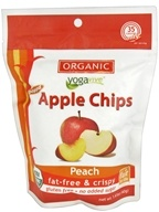 Yogavive - Apple Chips Organic Peach - 1.41 oz. by Yogavive