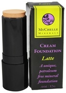 MyChelle Dermaceuticals - Minerals Cream Foundation Latte - 0.4 oz.