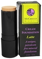 Image of MyChelle Dermaceuticals - Minerals Cream Foundation Latte - 0.4 oz.