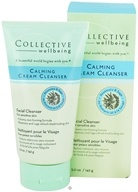 Image of Collective Wellbeing - Facial Cleanser Calming Cream Cleanser with Rosemary & Sage - 5 oz.