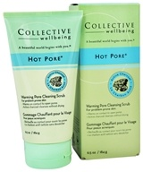 Image of Collective Wellbeing - Facial Cleanser Hot Pore Warming Pore Scrub with Active Charcoal - 6.5 oz.