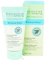 Collective Wellbeing - Whirled Peas Firming Face Mask with Green Peas - 5 oz. by Collective Wellbeing