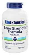 Life Extension - Bone Strength Formula with KoAct - 120 Capsules (737870172512)