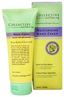 Collective Wellbeing - Moisturizing Hand Cream with Shea Butter & Chamomile - 3.5 oz.