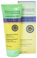 Collective Wellbeing - Moisturizing Foot Butter with Cardamon & Mint - 3.5 oz. (800704020324)