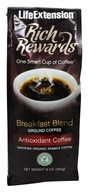 Life Extension - Rich Rewards Breakfast Blend Ground Coffee - 12 oz. (737870160915)