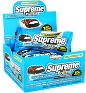 Supreme Protein - Carb Conscious Bar 15g Protein Cookies 'n Cream - 1.59 oz.