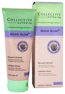 Collective Wellbeing - Good Glide Personal Lubricant with Aloe Vera Natural Berry Flavored - 3.4 oz., from category: Sexual Health