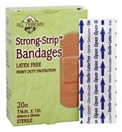 All Terrain - Strong-Strip Bandages Latex Free - 20 Bandage(s)