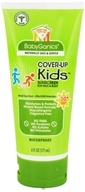 BabyGanics - Cover-Up Kids Sunscreen Lotion For Face & Body Waterproof Fragrance Free 30 SPF - 6 oz.