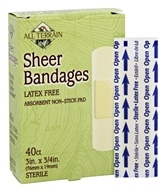 All Terrain - Sheer Bandages Latex Free - 40 Bandage(s) - $2.79