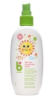 Image of BabyGanics - Cover-Up Baby Sunscreen Spray For Face & Body Water Resistant Fragrance Free 50 SPF - 5.98 oz.