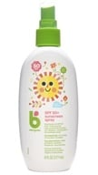 BabyGanics - Cover-Up Baby Sunscreen Spray For Face & Body Water Resistant Fragrance Free 50 SPF - 5.98 oz.
