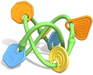 Green Toys - My First Twist Teether Ages 0+ by Green Toys