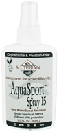 All Terrain - AquaSport Spray 15 SPF - 3 oz. CLEARANCE PRICED