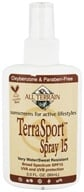 All Terrain - TerraSport Spray 15 SPF - 3 oz. CLEARANCE PRICED